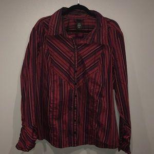 Lane Bryant Button Down Shirt Size 22/24
